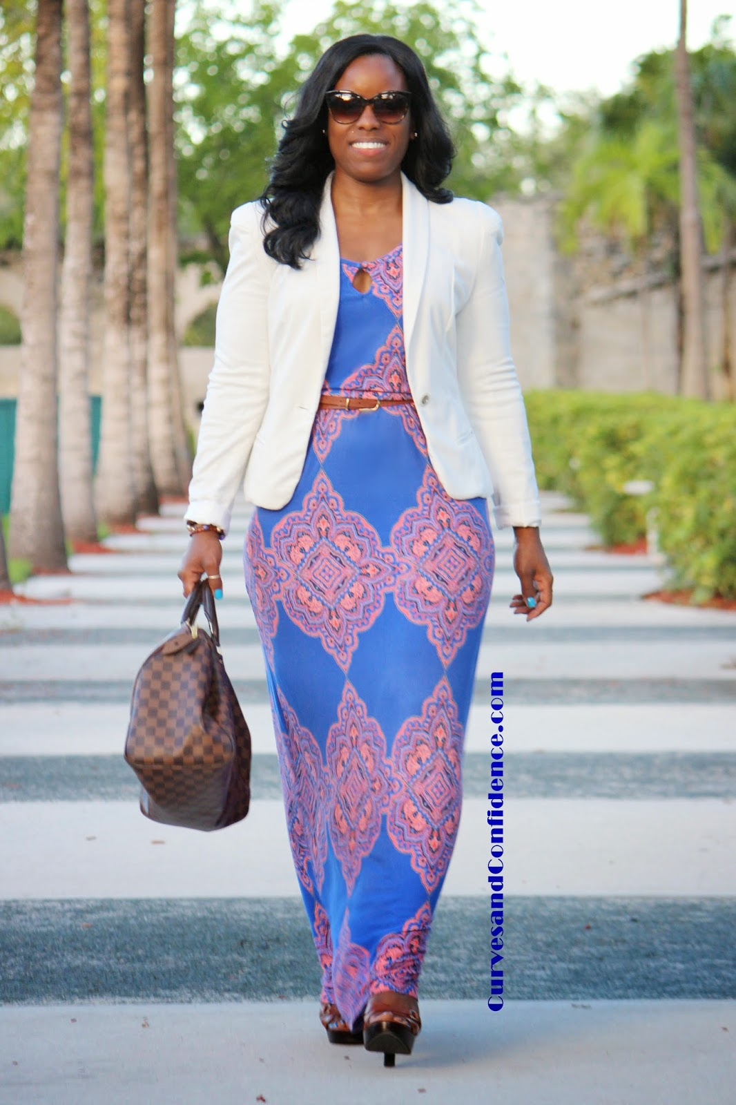 Make it Werk Maxi Dress - Curves and Confidence