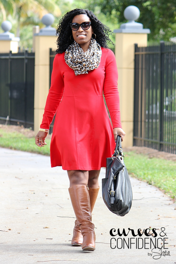 The Perfect Combination: Red, Leopard and Camel - Curves ...